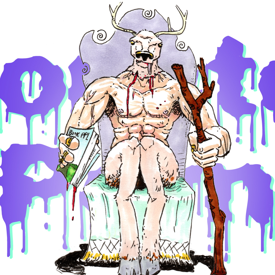 """Deer God on MP019 - """"Flurry"""" by Matt Cummins on Monster Porn Weird Fiction & Horror Podcast"""