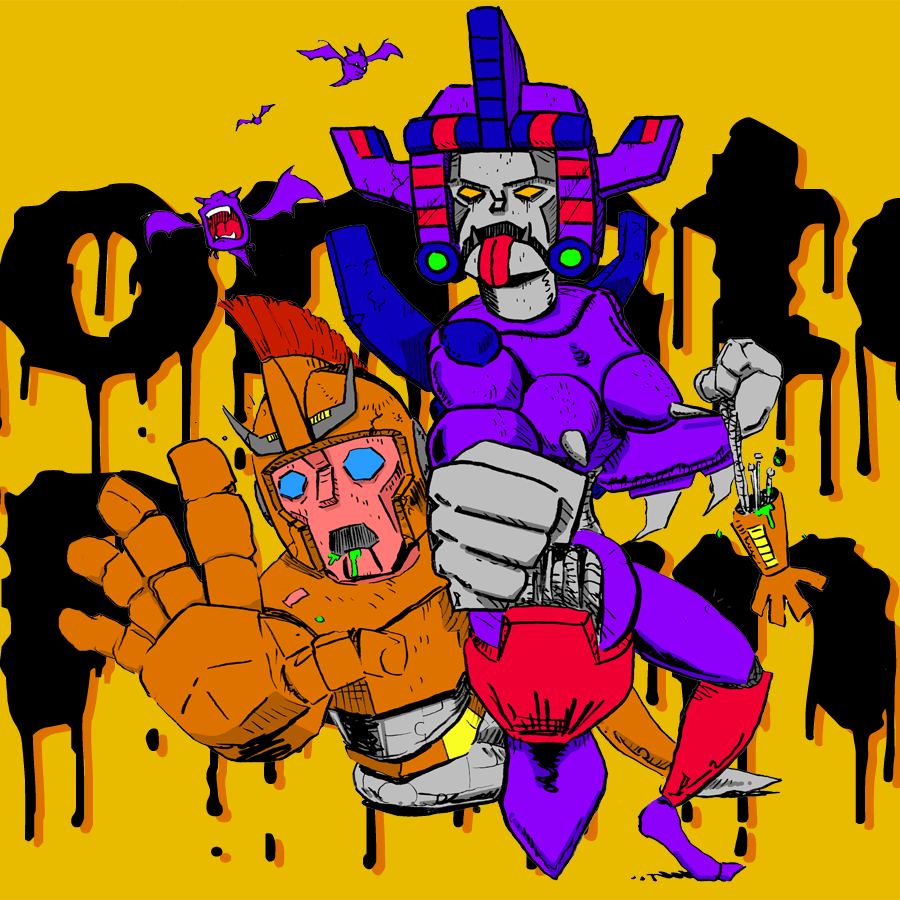 """""""Subterranean Robot Slay-cation"""" Bizarro Fiction by Bret Norwood on Monster Porn Podcast"""
