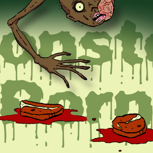 """Red for Ribs, Brown for Brisket"" Slasher Horror / Gore by Matt Cummins"